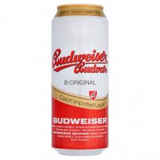 Budweiser Budvar Original cseh prémium világos sör 5% 0,5 l