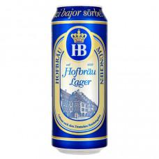 HB Hofbräu München világos sör 4% 0,5 l